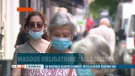 RTL INFO 19H : Le masque n'est plus obligatoire en rue à Bruxelles à partir de ce ...