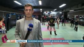 RTL INFO 19H : Reprise du sport en intérieur: Michael Menten fait le point en direct