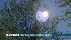 RTL INFO 13H : L'éclipse partielle du soleil a un impact sur la production d'élect...