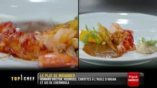 Le homard Breton de Mohamed
