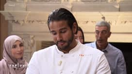 Top Chef : Mohamed remercie son équipe