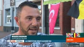 RTL INFO 13H : Euro 2020: rencontre avec des supporters de l'Italie et de la Turquie