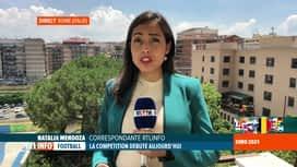 RTL INFO 13H : Euro 2020: l'ambiance à Rome avant le match Italie-Turquie