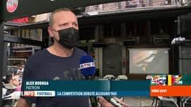 RTL INFO 13H : Euro 2020: il n'y aura pas d'écran géant à Liège, mais les supporte...