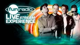 Fun radio live stream experience en replay