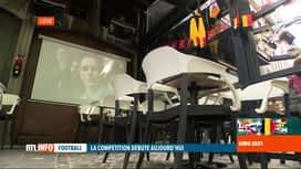 RTL INFO 19H : Euro 2020: il n'y aura pas d'écran géant à Liège, mais les supporte...
