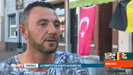 RTL INFO 19H : Euro 2020: rencontre avec des supporters de l'Italie et de la Turquie