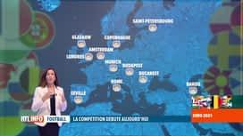 RTL INFO 19H : Euro 2020: Anne Ruwet fait le point sur l'organisation de la compét...