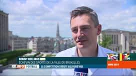 RTL INFO 19H : Euro 2020: la compétition passe par 11 villes, mais pas par Bruxelles