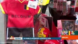 RTL INFO 13H : Euro 2020: les supporters belges se préparent pour le match de ce soir
