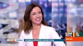 RTL INFO 13H : Le journal de l'Euro 2020 de football présenté par Anne Ruwet