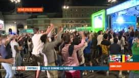 RTL INFO 13H : Euro 2020: les Italiens ont fêté la victoire de leur équipe