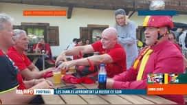 RTL INFO 19H : Euro 2020: les supporters belges se préparent pour le match de ce soir