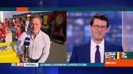 RTL INFO 19H : Euro 2020: ambiance à Liège pour le match de ce soir