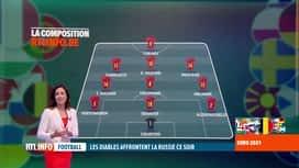 RTL INFO 19H : Euro 2020: retour sur les prestations des Diables aux précédents Euro