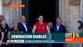 RTL INFO 19H : Euro 2020: l'équipe des Diables Rouges a marqué plusieurs générations