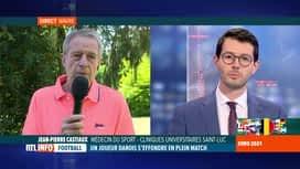 RTL INFO 13H : Jean-Pierre Castiaux, médecin du sport, revient sur l'arrêt...