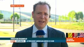 RTL INFO 19H : Joe Biden est à Bruxelles pour participer à un sommet de l'OTAN