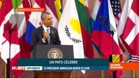 RTL INFO 19H : Retour sur les dernières visites de présidents américains en Belgique