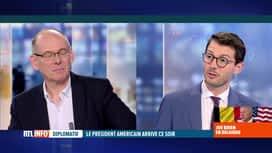 RTL INFO 19H : La visite de Joe Biden en Belgique décryptée par le Pr Serge Jaumain