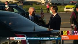 RTL INFO 13H : Joe Biden à Bruxelles: un protocole de sécurité hors du commun