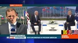RTL INFO 13H : Joe Biden à Bruxelles: le président des Etats-Unis est à l'OTAN ce...