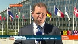 RTL INFO 13H : Joe Biden à Bruxelles: le programme de la visite présidentielle