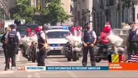 RTL INFO 13H : Joe Biden à Bruxelles: importantes perturbations dans la capitale