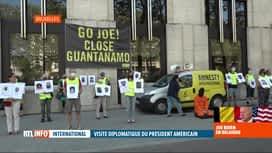 RTL INFO 19H : Joe Biden à Bruxelles: manifestation d'Amnesty afin de fermer Guant...