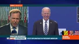 RTL INFO 19H : Joe Biden à Bruxelles: retour sur les enjeux du sommet de l'OTAN
