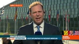 RTL INFO 19H : Joe Biden à Bruxelles: une rencontre avec le roi Philippe aura lieu...