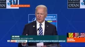 RTL INFO 13H : Joe Biden abordera les sujets qui fâchent demain avec Vladimir Poutine