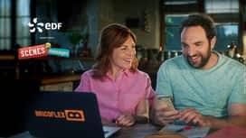 EDF revient dans scènes de ménages en replay