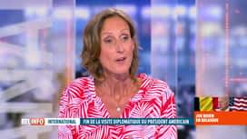 RTL INFO 19H : Visite de Joe Biden au Palais royal: l'éclairage de Chantal Monet