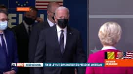 RTL INFO 19H : Visite de Joe Biden: un sommet UE-USA pour apaiser la guerre...