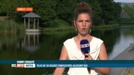 RTL INFO 19H : On prévoit un air lourd et des pics d'ozone dans les prochains jours