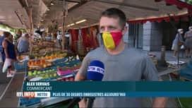 RTL INFO 19H : Chaleur: les ventes de fruits et légumes rafraîchissants progressent