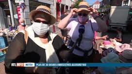 RTL INFO 19H : Chaleur: tous les couvre-chefs ne sont pas efficaces contre le soleil