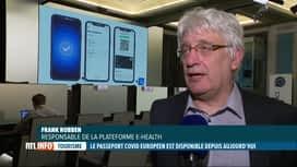 RTL INFO 19H : Coronavirus: le passeport Covid est disponible en Belgique