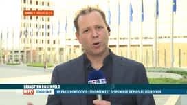 RTL INFO 19H : Coronavirus: quels sont les pays européens acceptant le pass Covid?