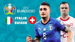 Le résumé du match : Italie - Suisse