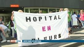 RTL INFO 13H : Grève nationale dans les hôpitaux ce jeudi