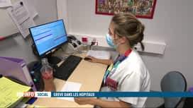 RTL INFO 19H : Grève nationale dans les hôpitaux : une infirmière nous parle de sa...