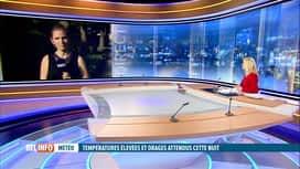 RTL INFO 19H : Prévisions météo: orages et averses arrivent