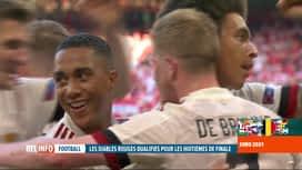 RTL INFO 13H : Euro 2020: Danemark-Belgique: les Diables Rouges se sont imposés 1-2