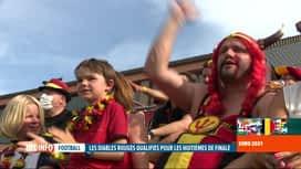 RTL INFO 13H : Euro 2020: Danemark-Belgique, les supporters en ont vu de toutes...