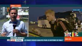 RTL INFO 13H : Euro 2020: les Diables Rouges sont rentrés au centre national de Tu...