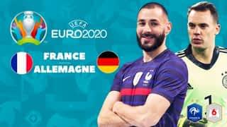 Le résumé du match : France - Allemagne