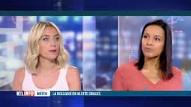 RTL INFO 13H : Météo: Emilie Dupuis fait le point sur l'alerte orages lancée par l...