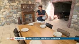 RTL INFO 13H : Les gîtes de vacances se réjouissent des assouplissements décidés p...